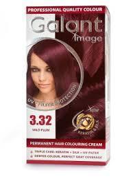 Крем-краска для волос GALANT 3,32 Дикая слива (3800049200754)