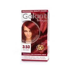 Крем-краска для волос  GALANT  3,53  красный гранат (3800049200815)