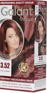 Крем-краска для волос GALANT 3,52  рубиновое лето (3800049200808)