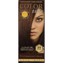 Краска для волос Color Time 25 каштан (3800010502528)