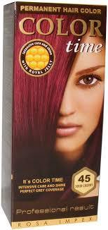 Краска для волос Color Time 45 вишня (3800010502542)