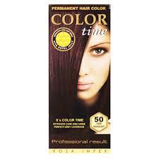 Краска для волос Color Time 50 темный махагон (3800010502559)