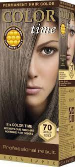 Краска для волос Color Time 70 темний попелясто-русий (3800010502580)