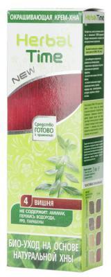 Крем-фарба на основі хни Herbal Time 4 вишня (3800010501071)