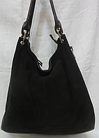 Стильная сумка из натурального замша.