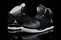Кроссовки баскетбольные Nike Air jordan Flight 97 черные кожаные