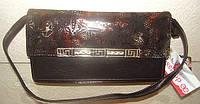 """Оригинальный женский клатч, ТМ """"DE ESSE"""" Leather Collection."""