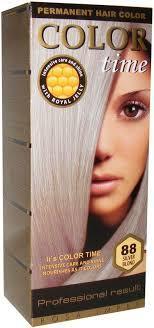 Фарба для волосся Color Time 88 Срібний русий (3800010502955)