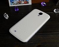 Кожаная задняя крышка белая для Samsung Galaxy S4, фото 1