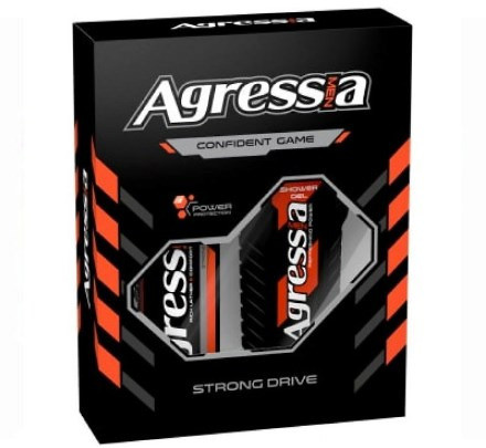 Подарочный набор Agressia Normal Strong Drive NPA-082 (3800213310265)