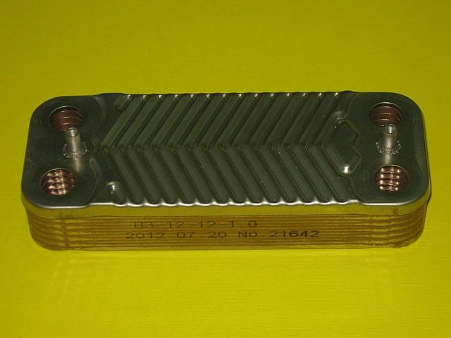 Теплообменник вторичный 18 / 24 кВт AA10110001 Zoom Boilers, Rens, Weller