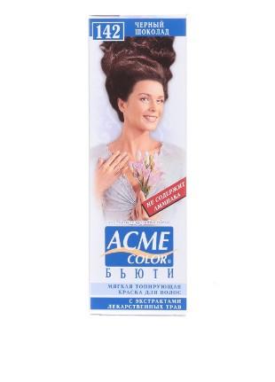 Краска для волос  Бьюти Экми ACME-COLOR Чёрный шоколад 142 (4820000300155)