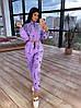 Женский спортивный костюм - двойка с мастеркой на молнии и штанами на резинке (42-44 р) 66SP1085Q