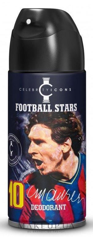 Дезодорант Football Stars 10 Messi 150 мл (5905009048273)