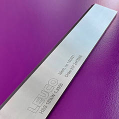 230х30х3 HSS 18% Стругальні (фугувальні) ножі Leuco для фуганків та рейсмусів