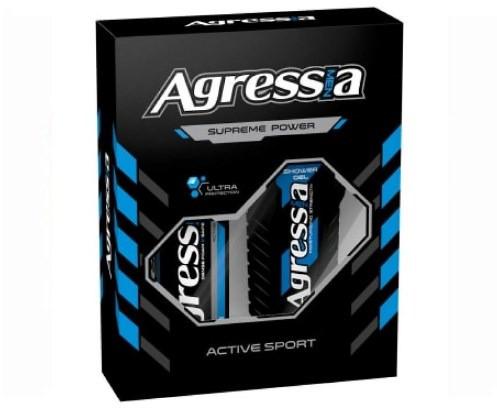 Подарочный набор Agressia Sensitive Active Sport NPA-083 (3800213310272)