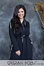 Cпортивное платье в пол с капюшоном, карманами и боковыми разрезами в больших размерах 1ba789, фото 6