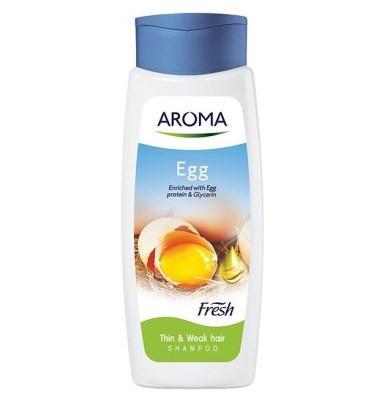 Шампунь Aroma Fresh Shampoo Egg  для тонких и слабых волос 400 мл (3800013528877)