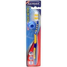 Зубная щетка Astera Flex Active Medium (средней жесткости) (3800046530106)