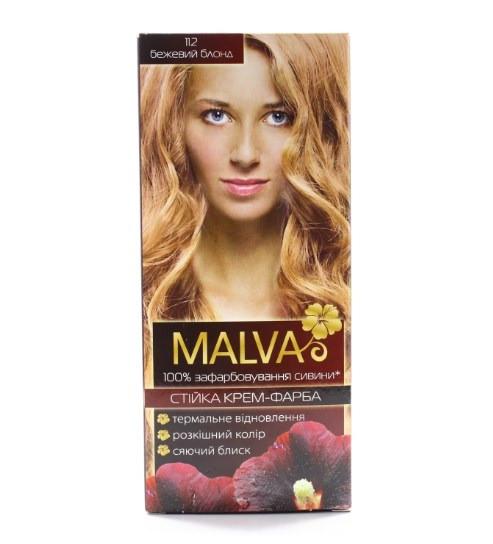 Крем- краска для волос Malva Hair Color 112 Бежевый блонд (4820000308564)