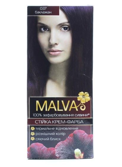 Крем- краска для волос Malva Hair Color 037 Баклажан (4820000308496)