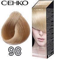 Краска для волос C:ehko  Бежевый Блонд 98 (4012498898959)