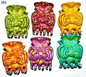 Крабик меланж різнобарвний дрібний 103