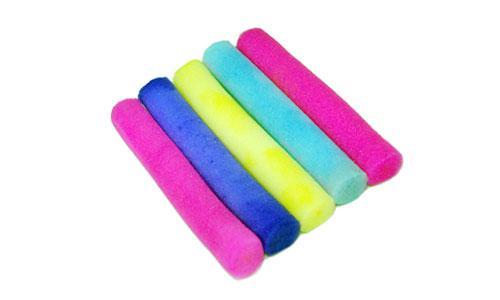 Бигуди поролон разноцветные  8