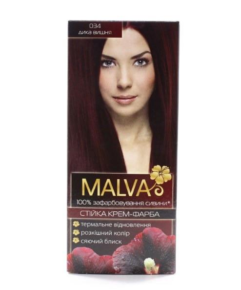 Крем- краска для волос Malva Hair Color 034 Дикая вишня (4820000308502)