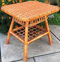 Плетеный стол прямоугольный ( 90*60), фото 1