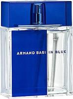 Туалетная вода для мужчин Armand Basi In Blue 100 мл (8427395957207) Тестер