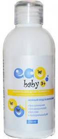 Шампунь EcoBaby 3+ хлопок+масло льна 250 мл (4820197000135)