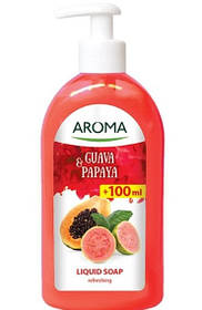 Жидкое мыло AROMA Гуава и папайя 500 мл (3800013521496)