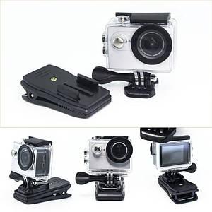 Клипса - прищепка 360 для GoPro, SJCAM и Xiaomi Yi