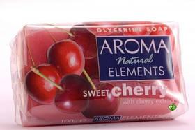 Мыло  Aroma Natural Elements Sweet Cherry 100 г (3800013565186)