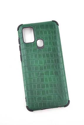 Чехол Xiaomi Redmi Note 8T Silicon Reptile Dark Green, фото 2