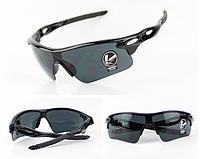 Очки спортивные велосипедные ударопрочные защитные (black), фото 1