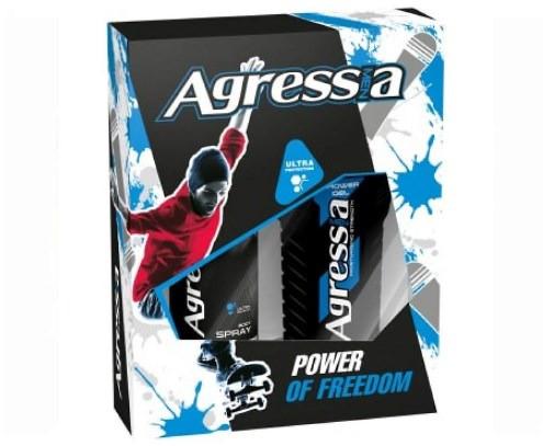 Подарочный набор Agressia Sensitive Power Of Freedom NPA-043 (3800213305636)
