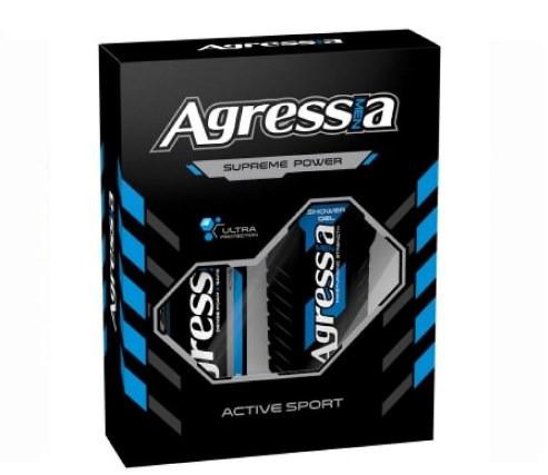 Подарочный набор Agressia Sensitive Active Sport NPA-053 (3800213305773)