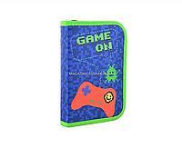 Пенал твердый одинарный Game on Синий (531710)