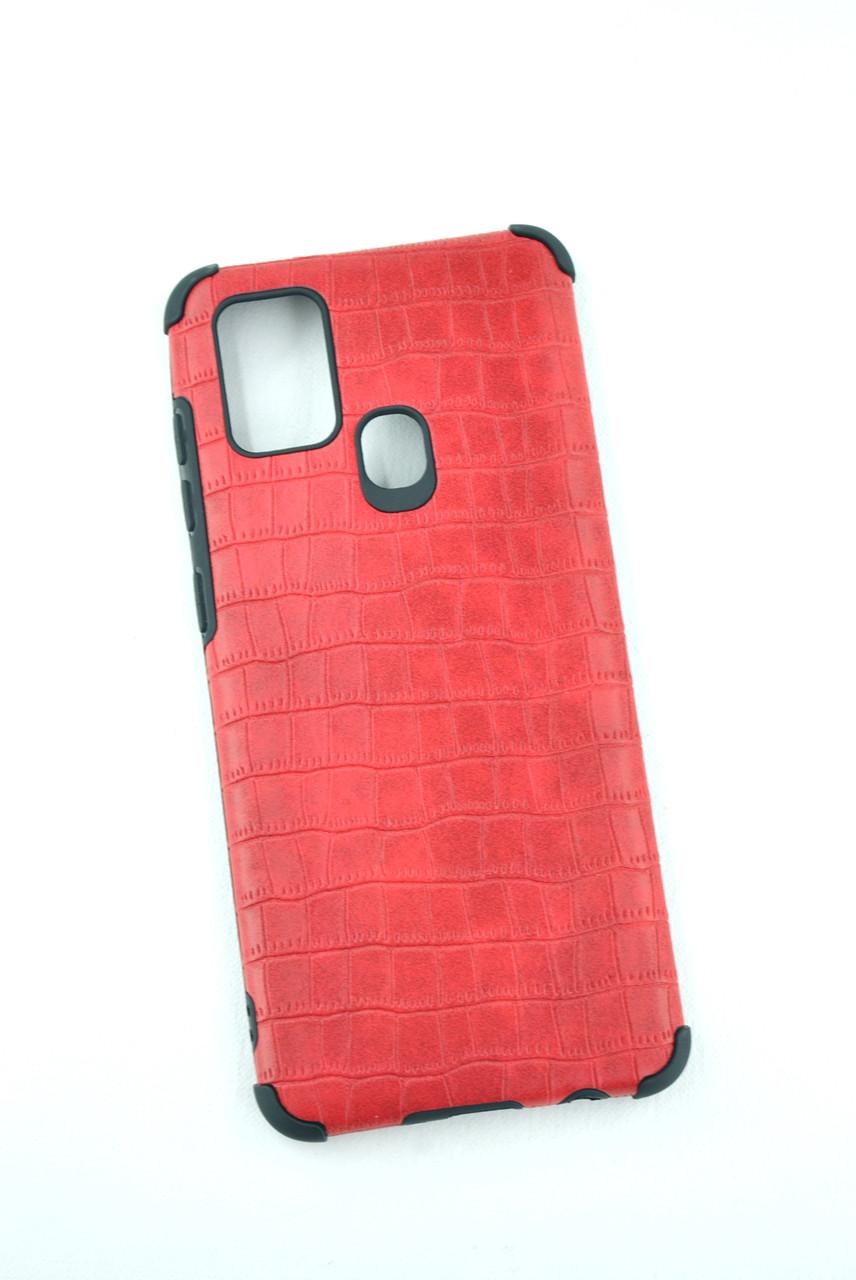 Чехол Samsung A11/A115 Silicon Reptile Red