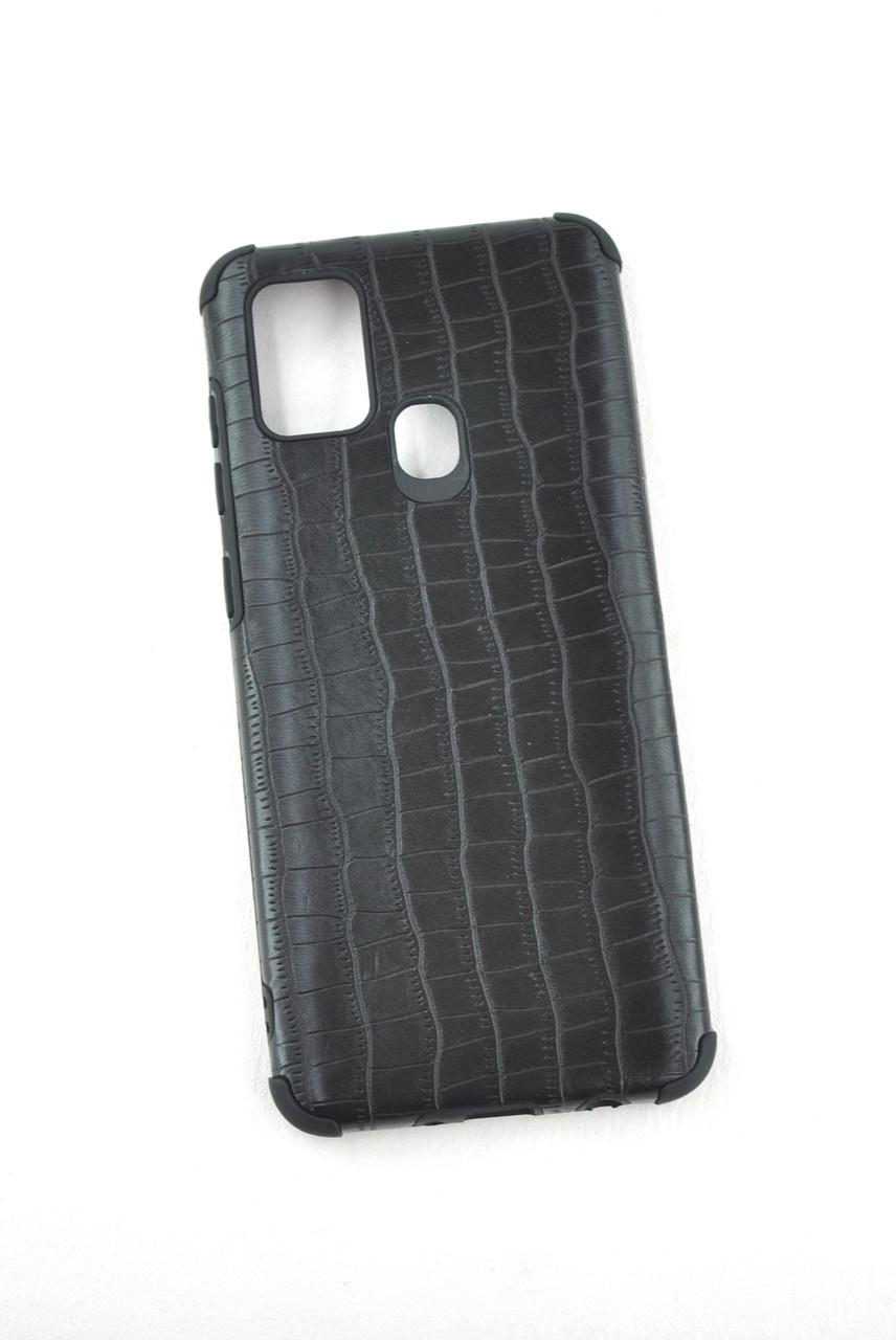Чехол Samsung A21/A215 Silicon Reptile Black