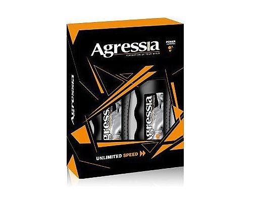 Подарочный набор Agressia Normal шампунь+гель для душа NPA-072 (3800213308101)