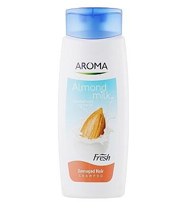 Шампунь Aroma Fresh Shampoo Almond Milk для поврежденных волос 400 мл (3800013527184)