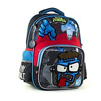 Рюкзак школьный YES S-31 Zombie черный (558159), фото 1
