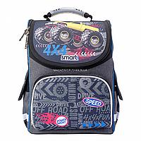 Рюкзак школьный каркасный Smart Speed Черный (557941)