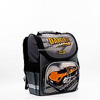 Рюкзак школьный каркасный SMART Серый (558088)
