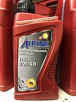 Alpine RSL 5W-40 ACEA A3/B4 API SN/CF 1л