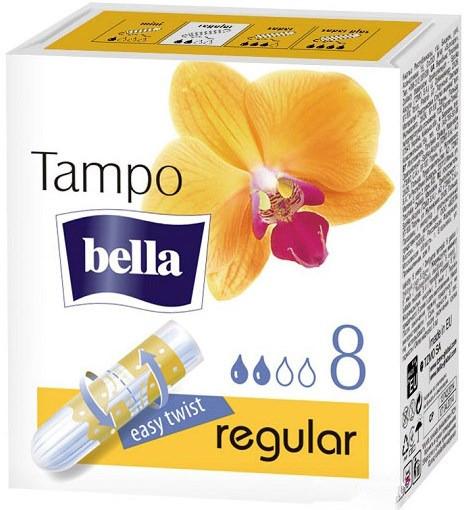 Гігієнічні тампони Bella Tampo Premium Comfort Regular 8 шт (5900516320294)