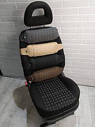 Упор масажний для спини EKKOSEAT в авто зі знімним масажером